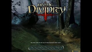 Divine Divinity gameplay (PC Game, 2002)
