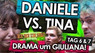 Dschungelcamp 2018 - Tag 6 & 7:  Giulianas DRAMA-Auszug 🙈! MEGA-Zoff: Daniele VS. Tina bei IBES RTL