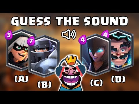 Guess The Troop Sound | Clash Royale Quiz