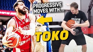 Offensive Basketball Moves with Tornike Shengelia & Micah Lancaster