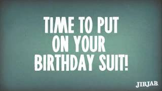 Birthday Suit - Happy Birthday Cards  Funny Birthday eCards