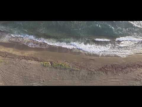 drone flight over canada mangroves in st. kitts