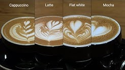 Here are all the big differences between some of the most popular coffee drinks
