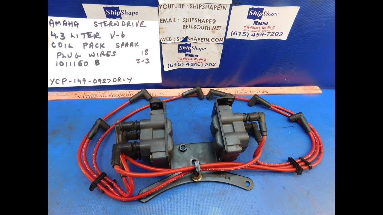 FOR SALE - Yamaha Sterndrive Coil Pack 4 3 V-6 $149 95 J-3