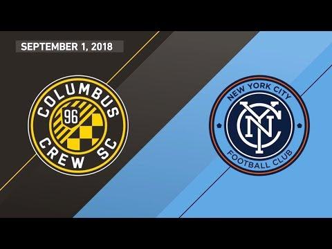 HIGHLIGHTS: Columbus Crew SC vs. New York City FC | September 1, 2018