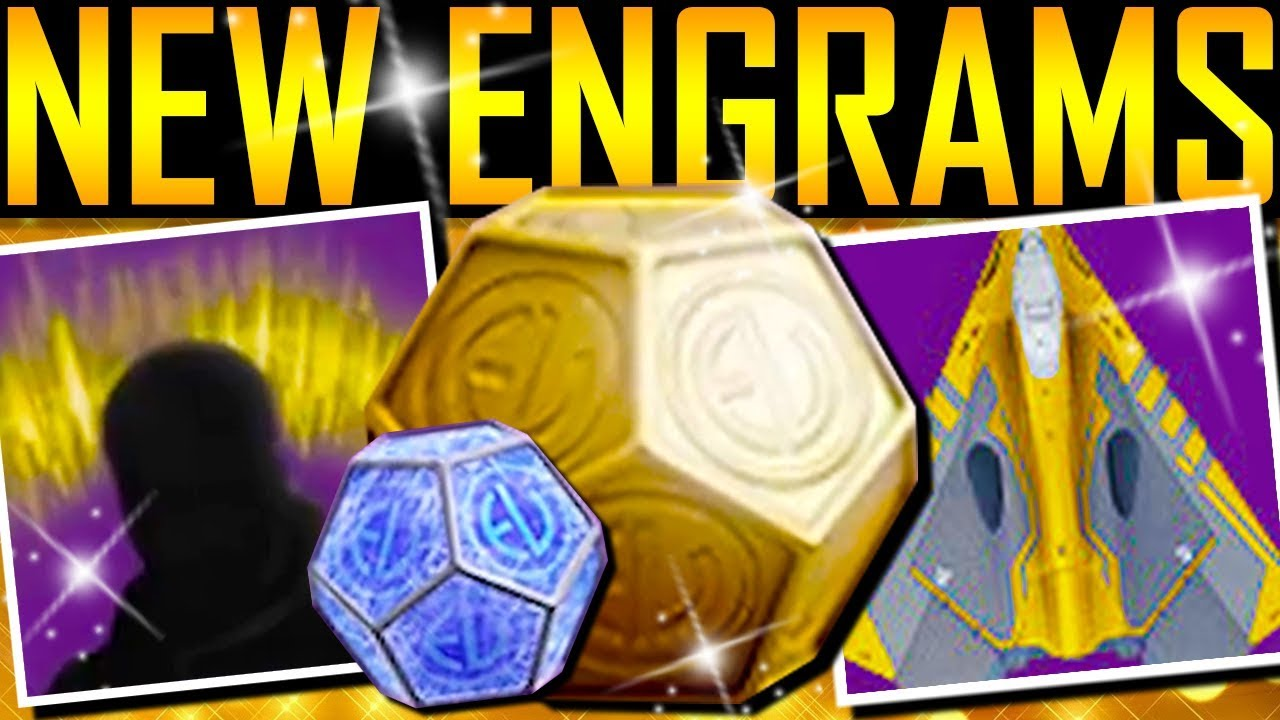 Destiny 2 - NEW ENGRAMS! GOLD AURA! GOLD SHIP!