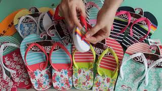 Детские вьетнамки для девочек на пляж, на море, в бассейн; детская пляжная обувь для девочки