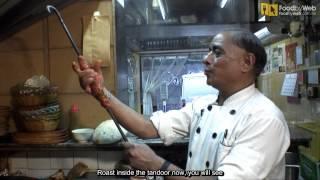 Master Gopal Making Lamb Seekh Kebab