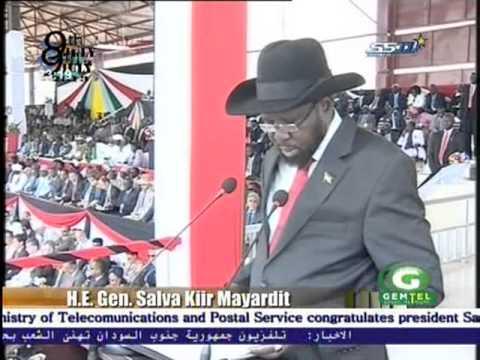 07/09/13 president salva address to s.sudan