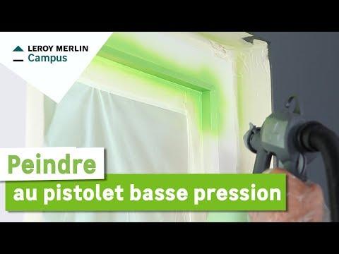 Comment Peindre Au Pistolet Basse Pression Leroy Merlin