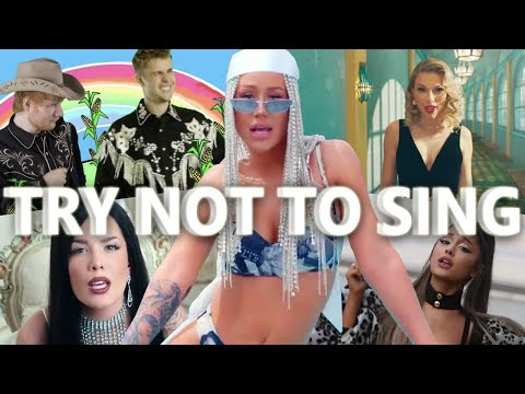 Try Not To Sing Along Challenge (IMPOSSIBLE) (BEST SONGS 2019)
