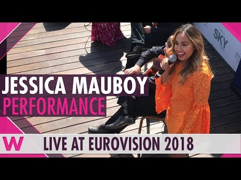 "Jessica Mauboy ""Falling"" @ Australia's ambassador's party in Lisbon's Sky Bar 