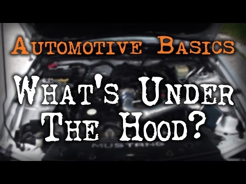 Car Basics - What's under the Hood?