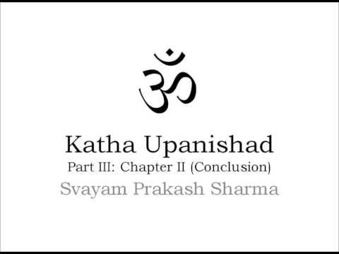 Katha Upanishad in Simple English  Part Three