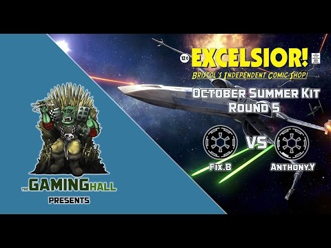 X-wing 2016 October Summer Kit Round 5 - Fix.B (Imperial) v Anthony.Y (Imperial)