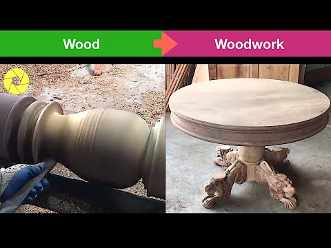 Amazing Creative Woodwork From Ingenious woodworkers | Woodwork And Woodworking Projects