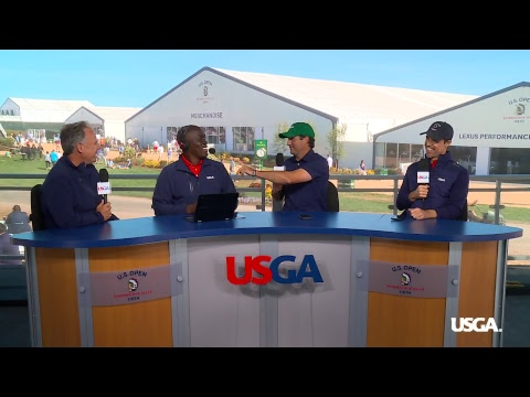 Justin Thomas, Webb Simpson and Others Join U.S. Open Live  - Buy American