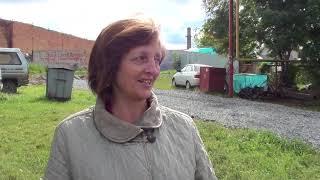Жительница Бердска Татьяна Ладанова рада что сделали дорогу на Урицкого
