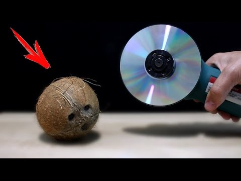 EXPERIMENT: WHAT CAN YOU CUT WITH CD