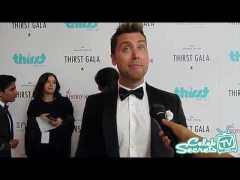 Lance Bass Interview   Thirst Gala 2016