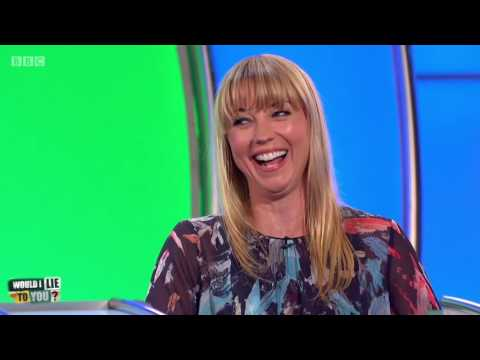 """Sara Cox: """"I know how to properly wash a cow."""" - Would I Lie to You? [HD][CC]"""
