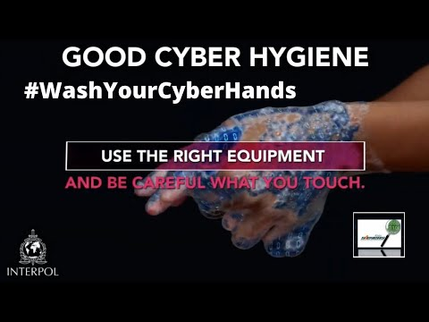Interpol Campaign will highlight top threats and offer advice to #WashYourCyberHands