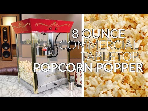CCP610TOP | 8 Oz Commercial Tabletop Popcorn Popper