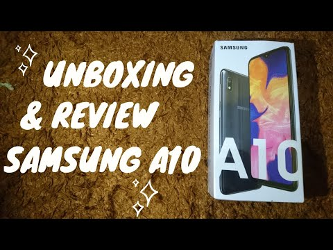 Unboxing & Review Samsung Galaxy A10