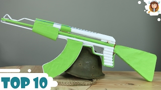 How To Make Paper Guns - Car - (Top 10 2016)