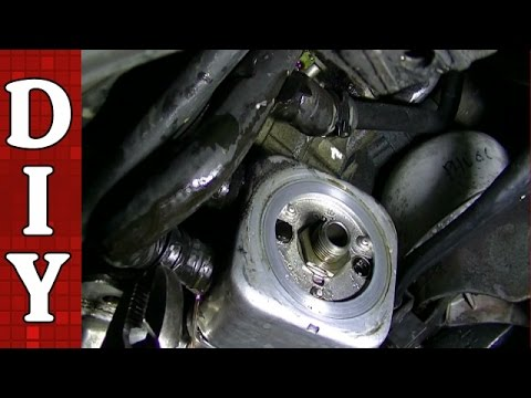 2003 Audi A4 Engine Diagram Heat Pump Thermostat Wiring Oil Cooler Gasket Seal Removal And Replacement - Vw Passat A6 2.8l 3.0l Youtube
