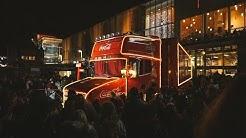 Coca-Cola Truck Glasgow St Enoch Square
