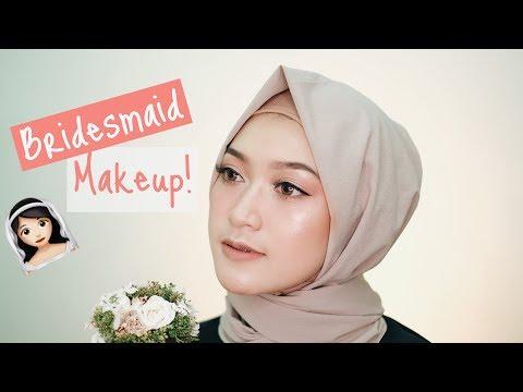 BRIDESMAID MAKEUP TUTORIAL ft MAKEOVER | saritiw