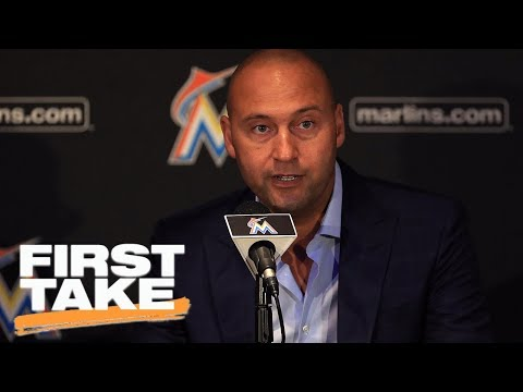 Derek Jeter would be fine with Marlins players kneeling for national anthem | First Take | ESPN