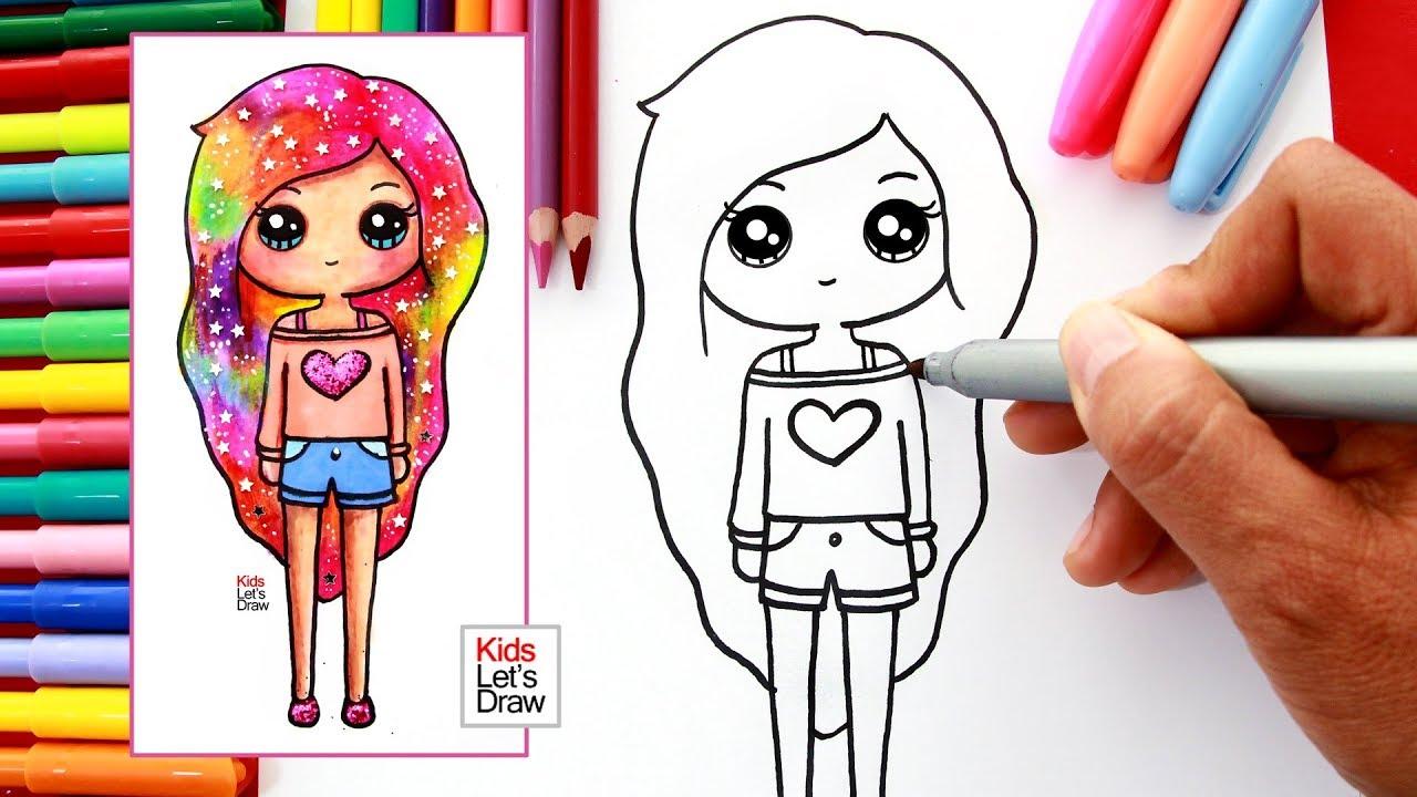 Unicornios De Dibujos Para Faciles Colorear