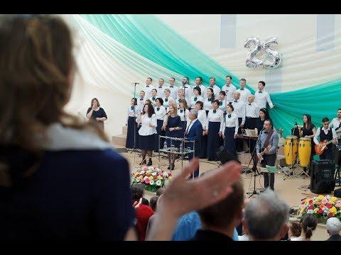 Видео отчет с юбилея церкви «Филадельфия»