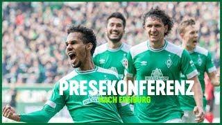 Pressekonferenz mit Christian Streich & Florian Kohfeldt | Werder Bremen - SC Freiburg 2:1