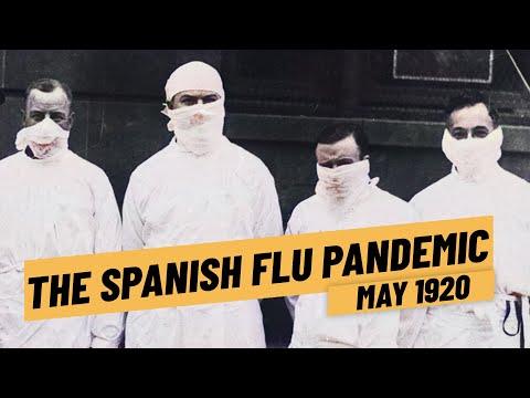 The Spanish Flu Influenza Pandemic 1918 - 1920 I THE GREAT WAR 1920