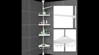 видео Полочки для ванной комнаты