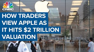 Here's how the traders view Apple as it hits $2 trillion market cap