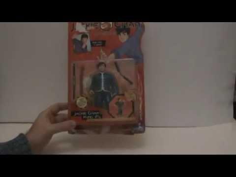 Jackie Chan figure animated show Playmates 2001