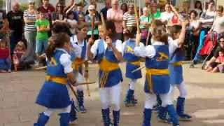 Ball de bastons. Fira de St Ponç. Cànoves. 10-5-14 (Video 5)