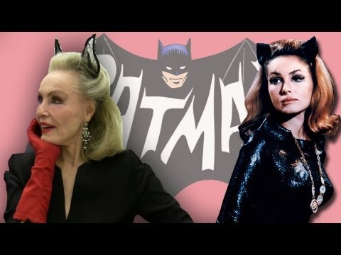 Catwoman Julie Newmar! Comic-Con 2011 Full Interview