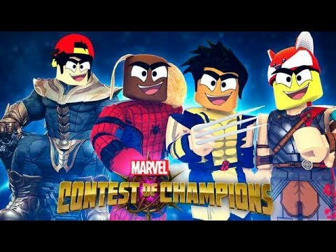 ROBLOX - CONTEST OF CHAMPIONS - THANOS IS KING! - 동영상