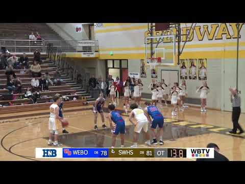 Western Boone @ Speedway   Boys Varsity Basketball   2/13   WBTV Sports