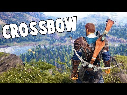 CROSSBOW WEAPON / COPPER ARMOR CRAFTING - Dark And Light Gameplay