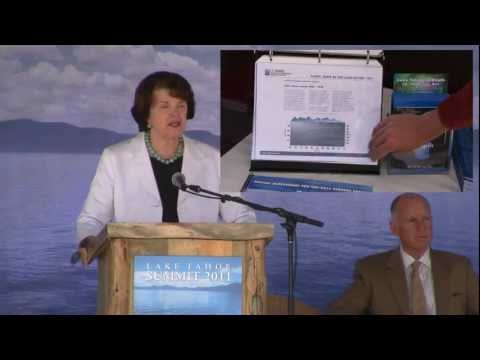 Tahoe Summit 2011: Jerry Brown, Brian Sandoval, Harry Reid meet to discuss future of Lake Tahoe