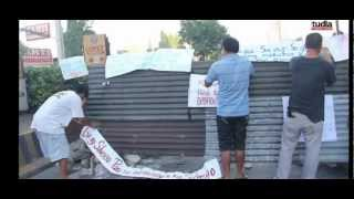 Silverio Demolition Turned Bloody and Violent