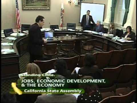 Assembly Jobs, Economic Development and the Economy 1/5/2010