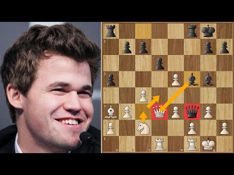 Magnus Carlsen Pranks Jan Gustafsson by Playing on His Friend