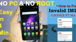 GIONEE F103 PRO IMEI REPAIR WITHOUT PC